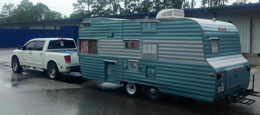 Another classic camper with a new lease on life!
